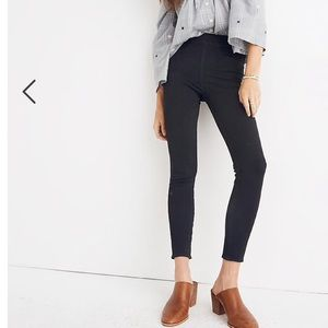 Madewell the anywhere black pull-on jean
